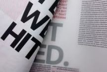 insitu / Magazine project. Broadsheet format / issue#1 | Typography, Editorial Design