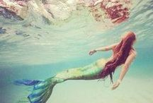 Mermaid Magic ✯ / Photos and inspiring art of mermaids and sirens of the sea.