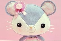 Amigurumi / Felt / Crochet / Plushes