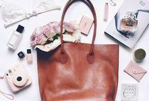 Inside women's bags