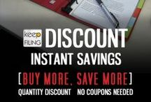 Promotions / Keepfiling sales, promotions and other special offers!