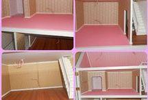 Casas de muñecas: Casas / Casas de muñecas, ideas de decoración, DIY, muebles y accesorios.