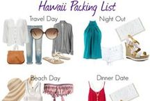 Maui: Planning / Pack light. Plan simply. Enjoy your vacation on Maui.