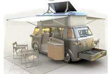 Obytná auta :o) domy & lodě / campers / houseboats
