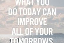 Motivation Monday / Inspiration to get you through Monday and start you week off right!