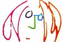 Artwork of John Lennon/Bag One