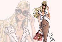 Illustration Femme Fashion