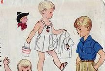 Totally Vintage Children Style / Vintage Children Clothing