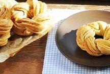 Hamurişleri / El açması börekler, Kekler,  Poğaçalar