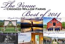 Best of 2014 at CWF / The Best of 2014 weddings at The Venue at Crooked Willow Farms.