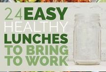 At Work: Healthy Eating / Ideas on eating healthy at work
