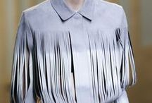 FRINGING. / Inspiration and research for a trend report on fringing for SS15