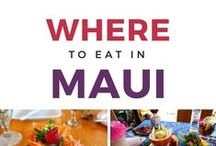 Maui: Dining / Great places to eat off the beaten path and the famous hangouts that you must not miss!