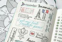 Bullet Journal ideas / Ötletek, illusztrációk, segítségek, kiegészítések, kreatív megoldások... azaz minden ami BuJo