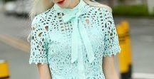 Lace Dress Shorts Top Blouse