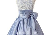 Fall Homecoming Party Dress