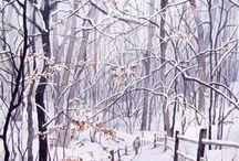 Schneelandschaften / Winter at art