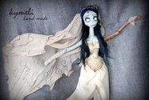 Emily The Corpse Bride by Kymeli / OOAK Art Doll by Kymeli