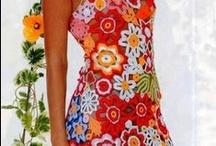 hekel histerie (rokke - kort) / crochet dresses