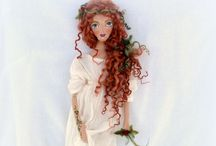 Art Dolls by Kymeli (Textil) / OOAK Art Dolls around 45cm