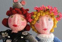 speel-speel (poppe) / crochet dolls