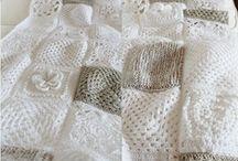 snoesig (blokke) / cozy crochet throws in blocks/squares