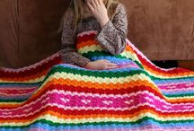 snoesig (strepe) / cozy crochet throws in stripes