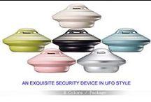 UFO Alarm, Versatile Scenarios / Eagle Defense Products, UFO Alarm ..(7) Seven Alarm Functions ..All In One Alarm.