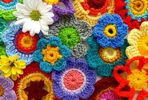 hekel vryvorm / freeform crochet