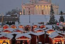 Helsinki in the winter time