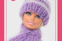 baniko kötött babaruhák/Hand-knitted Barbie doll clothes by baniko / Kézzel kötött Barbie ruhák, kiegészítők baniko babaruhák webáruházból/ Hand-knitted Barbie doll clothes