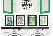 Laundry Room Style & Organization