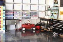 Utility Room and Garage Organization