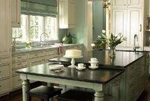 DECOR: kitchens, pantries, diy / by Molly Farrow