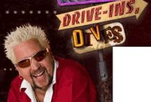"Guy Fieri & ""Triple D"" Recipes / From daytime to prime time, Guy brings his unique personality to Food Network multiple times a week. In 2006 Guy Fieri premiered his first show, Guy's Big Bite, on Food Network. Today, this ""culinary rock star"" also hosts the top-rated show Diners, Drive-Ins and Dives, as well as the special series Tailgate Warriors, and guest judges on Food Network Star. / by Massage Envy Spa Pleasanton"