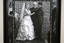 Weddings with Style / It's been 8 years since I got married in a pre-Pinterest world, but I love to see the creative ideas others come up with and I enjoy sharing ways to incorporate you wedding and honeymoon mementos into you home and life after the big day!