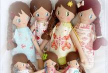Dolls for play by kymeli