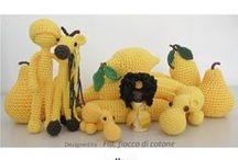speel-speel (kreature) / crochet creatures