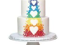 hier kom die bruid (troukoeke) / wedding cakes