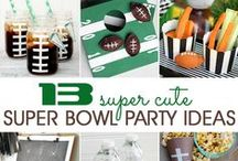 Super Bowl Parties with Style