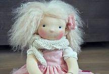 Waldorf dolls/Waldorf babák