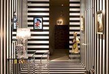 Black & White Stripe Style
