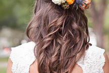 hier kom die bruid... (hare) / hairstyles for brides