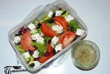 Jedzenie do pracy / Pomysły na jedzenie pudełkowe, czyli jedzenie które zabierzemy ze sobą do pracy, szkoły, na piknik...
