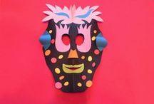 manualidades carnaval y disfraces Encarni Trabado / Manualidades sobre los disfraces y el carnaval