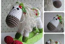 speel-speel (hop perdjie hop) / crochet horses