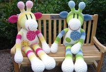 speel-speel (giraffes) / crochet giraffes
