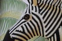 speel-speel (sebras) / crochet zebras