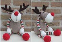 speel-speel (wildsbokke) / crochet reindeer, buck