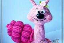 speel-speel (slakke) / crochet snails